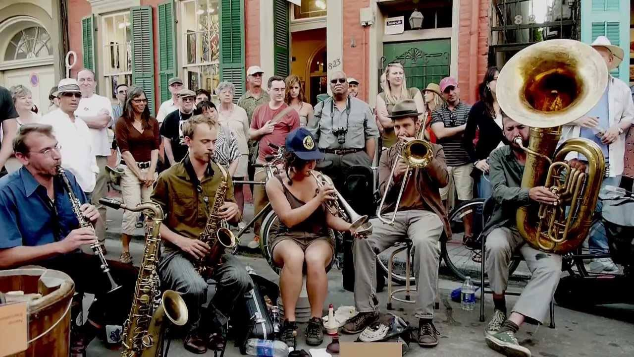 Jazz festival in NOLA